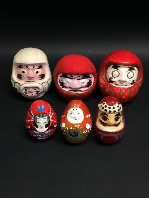 張り子人形 姫路張り子 松川ダルマ 郷土玩具