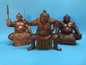 木彫人形 千代の富士 一刀彫 横綱