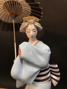 博多人形 西頭哲三郎 日本人形
