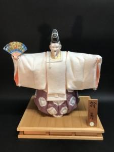 博多人形 日本人形 小野保徳 歌舞伎物