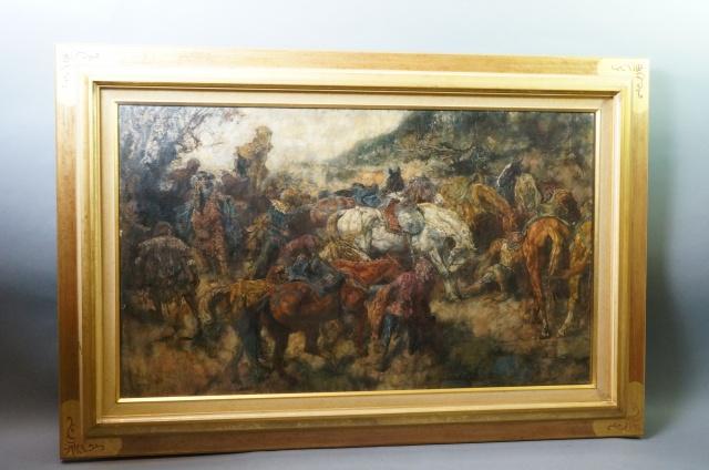 ヨハネス・ヘンドリクス・ジュレス 西洋美術 聖書 油彩画 骨董 キリスト教絵
